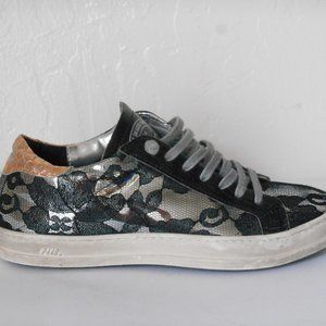 P448 John Leather Lace Sneaker